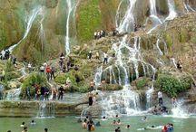Watervallen Iran