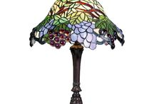 Small Tiffany Lamps / I want to share some of our favorite small Tiffany Table Lamps with you here. We have so many to choose from, but I think these are the best.