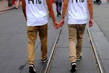 Relationship Goals / Cute boys doing cute things together. Want. Cute boy make this happen.  / by Kyle Goss