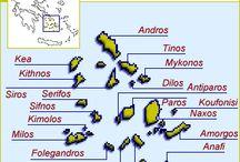 greek islands (kyklades) / greek islands