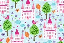 Tkaniny dla dziewczynek/ Fabrics for girls
