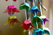 paperikukat / origami tähti