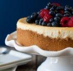 Deserts / Lemon cheesecake