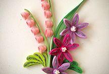 kâğıt çiçek