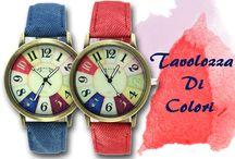Tavolozza di colori / #colorate #orologio #firenze