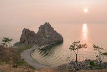 о. Ольхон / Невероятные пейзажи одного из самых красивых мест на озере Байкал