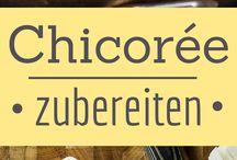 Chicorée-Rezepte / Ideen für den Einsatz von Chicorée in deiner Küche gibt es viele. Hier ein paar leckere Chicorée-Rezepte zum ausprobieren :-)