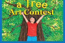 Picture a Tree Art Contest / Albert Whitman & Company celebrated Summer 2013 with an art contest inspired by Barbara Reid's latest children's book, Picture a Tree. #PictureATreeContest