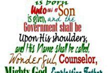 I love Jesus, I love Christmas