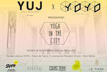 YUJ X YOYO - Yoga In The City / #yogaintheCT