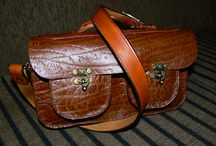 G1 Authentic Leather / All products are handmade from genuine leather.  Each piece of stiching are done hy hand.
