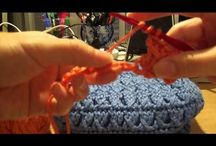 Crochet / Simple crochet projects great for kids and beginners
