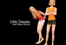 Sims 2 Clothing- PJs/Sleep