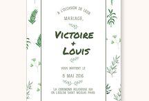 [WEDDING] Thème Nature / La tendance déco du cabinet de curiosité et nature a déteint sur le mariage. Retrouvez ce qui a inspiré notre collection de papeterie de mariage Simply Botanic.