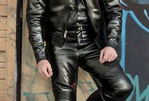 Biker leathers / *The*way to wear leather