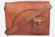 Leather Messenger Bags - New Range