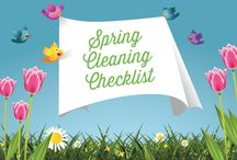 Outdoor Spring Cleaning / In order to enjoy your outdoor oasis, you have to earn your space. And not without first putting in a bit of elbow grease. From sprucing up patio furniture, to cleaning patio floor surfaces to cleaning off much-needed backyard tools, we've got your outdoor spring cleaning checklist ready. / by TruGreen