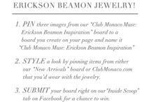 Club Monaco Muse: Erickson Beamon Inspiration.