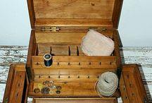 Vintage casket