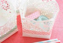 * Paper Doilies - Napperons en papier *