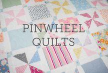 Pinwheel quilts
