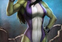 She-Hulk, yo / Jennifer Walters: lean, mean and green.