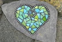 Mosaic hearts ❤️