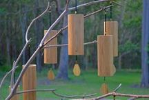 Koshi Wind chimes / The most beautiful and soothing harmonic Koshi wind chimes are hand crafted in four elemental tunings - Earth, Air, Fire and Water. Each tuning has eight precise notes creating an uplifting range of harmonic overtones...simply delightful  http://www.thealchemyofsound.com.au/koshi-wind-chimes/
