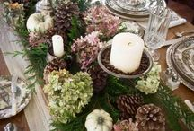 Holiday tables ideas