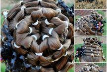 hår halløj