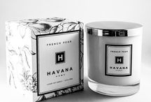 French Pear by Havana Home / This beautiful French Pear will transport you to Paris on a spring day.  Beautiful ripe pears, aged brandy and a hint of cinnamon create a perfect balance of natural freshness and sweetness.