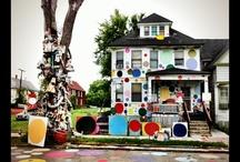 Detroit Heidelberg Project / by Cathy Gromek