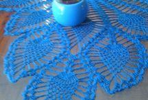 moje serwetki / Przedstawiam wykonane przeze mnie serwetki na szydełku:-)