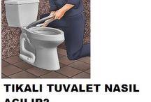 tıkalı tuvalet açmak