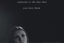 The Vampire Diaries / quotes and div from the series