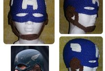Marvel baby hats