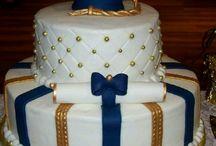 decorado de tortas para grado