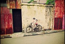 Penang Street Art / Pictures of beautiful street art in Penang.