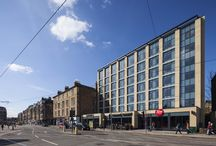 Aluprof on Hotels / Aluprof aluminium systems used across the UK on hotel developments