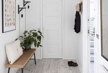 entryways / Interiors: modern, mid century and Scandinavian entryway decor