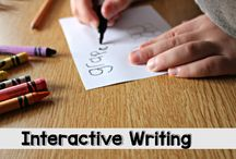 How to teach writing to little children: Interactive writing and other ideas! YAY!!! THANK YOU