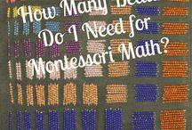 Montessori materials & activities