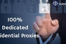 Dedicated Residential Proxies