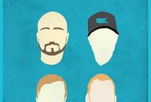 MillenPosters - Millencolin / My minimalist creations posters. Credit to: Lerik Lopes.