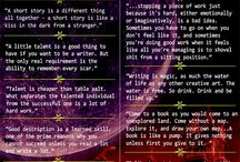 Writing / Writing inspiration