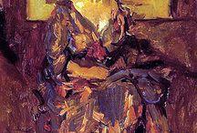 Israels, Isaac / Isaac Lazarus Israëls (Amsterdam, 3 februari 1865 – Den Haag, 7 oktober 1934) was een van de voornaamste Nederlandse schilders uit de groep van Amsterdamse Impressionisten. Naast zijn schilderwerk was hij tekenaar en aquarellist en maakte hij pastels, etsen en litho's.