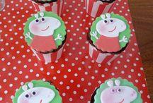 Peppa pig party / by Anne Maynard