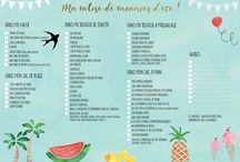 Listes vacances