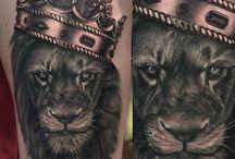 leão. tattoo