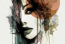 watercolor colours/ideas